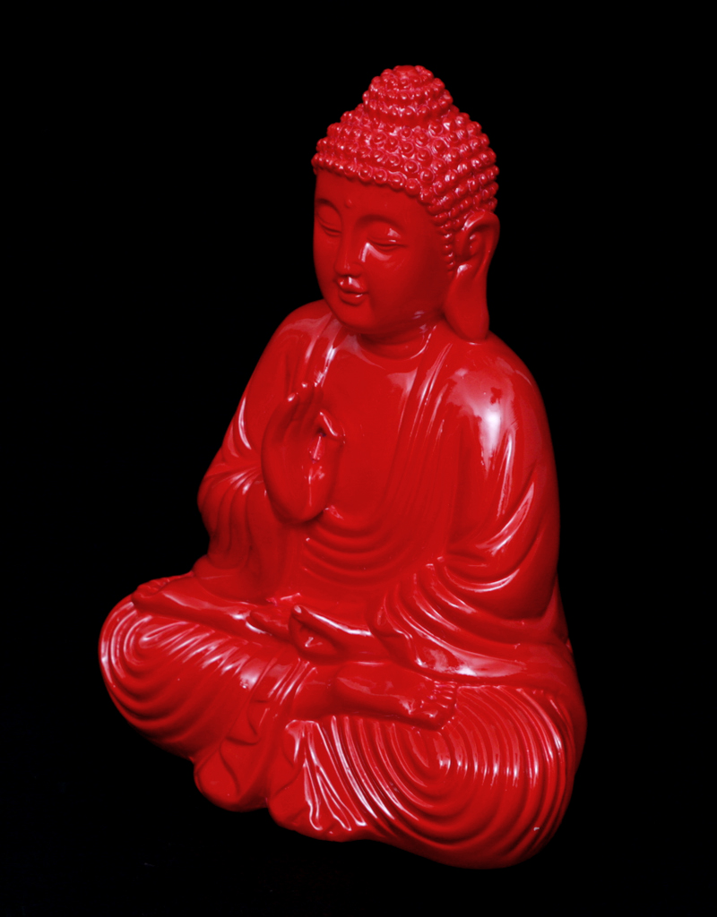 Figur buddha rot for Figur buddha