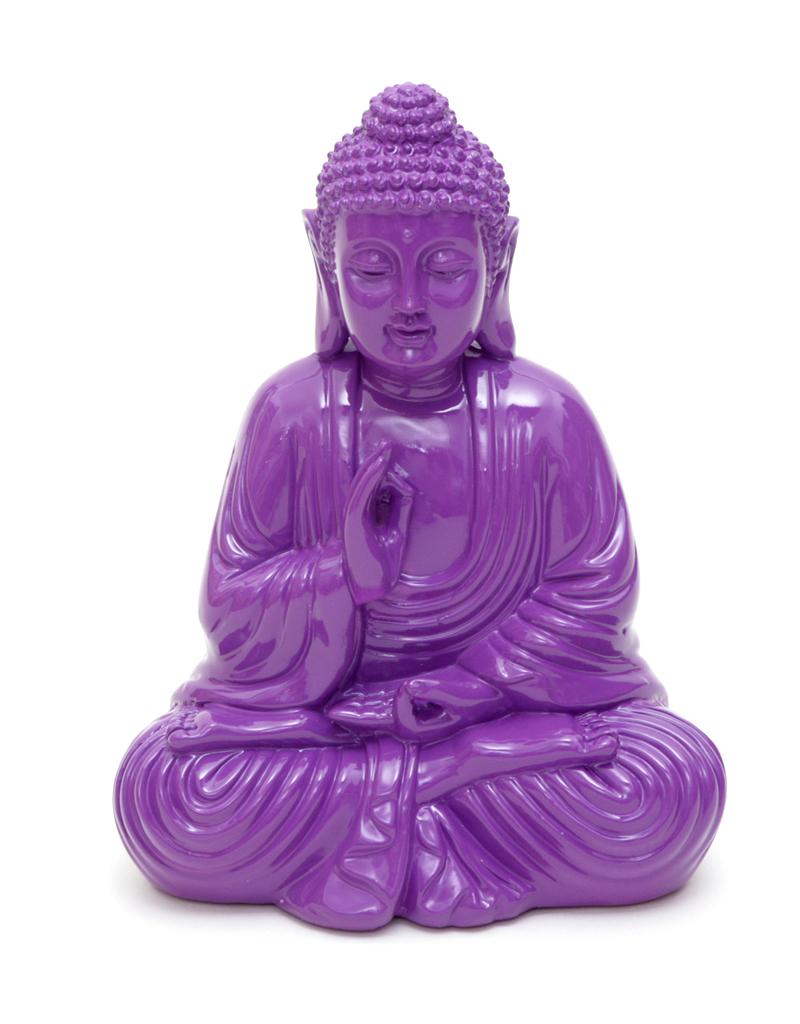 Figur buddha lila for Figur buddha